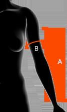 rozmiary damskich rękawów x-bionic