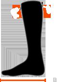 rozmiary skarpet unisex od x-socks