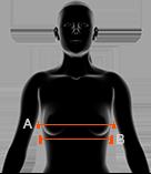 rozmiarówka biustonoszy x-bionic