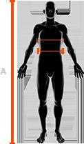 rozmiar męskich kombinezonów x-bionic klatka piersiowa