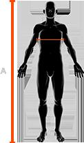 rozmiary męskich kurtek x-bionic w klatce piersiowej