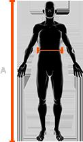 męskie spodnie x-bionic rozmiar pas